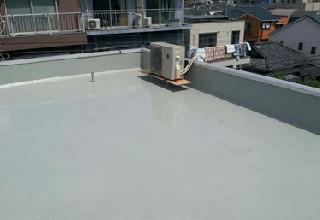 全面的な防水工事で蘇った陸屋根