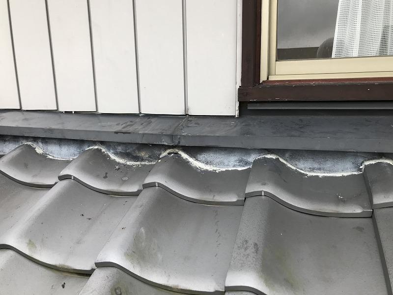 雨漏りの原因の窓枠