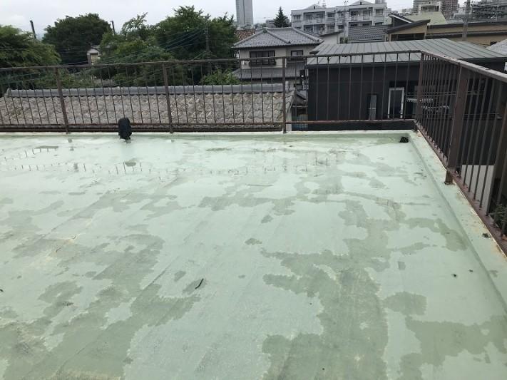 屋上の塗料防水