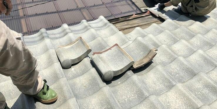 高崎市の耐震改修工事補助で瓦からガルバリウムへの葺き替え見積
