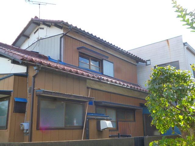 瓦 積みなおし後の屋根