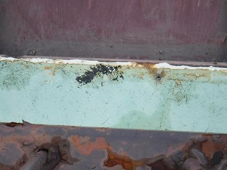 屋上塗料防水のささくれ