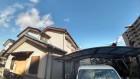 カーポート側から見た家の全景