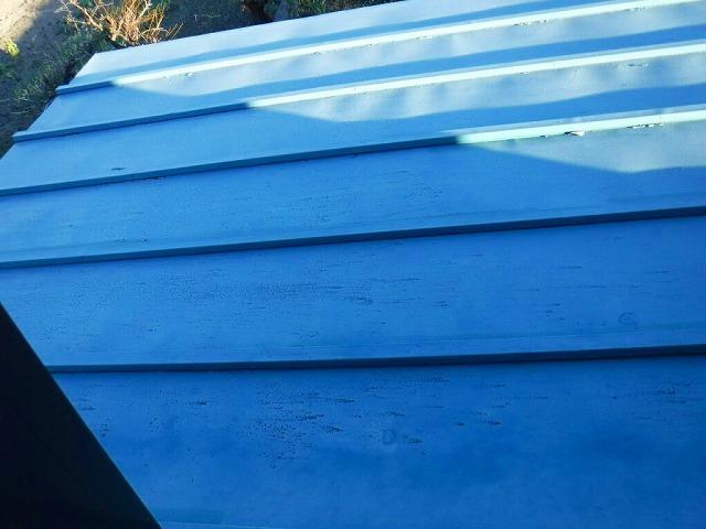 塗装が薄くなってきた屋根
