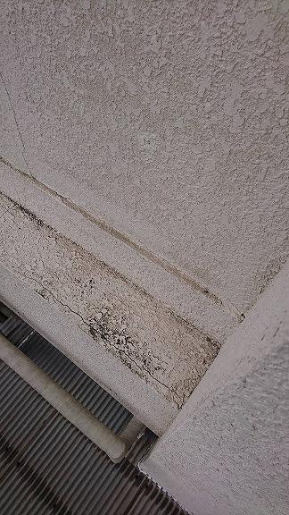 外壁のクラック横長