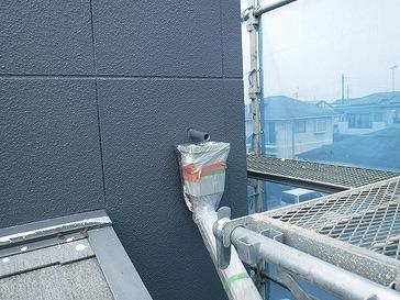 集水器周り上塗り後
