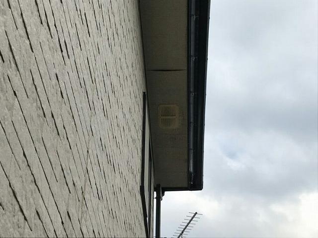 ロックウールの軒天井のたわみ