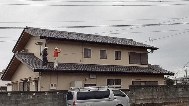 屋根瓦調査