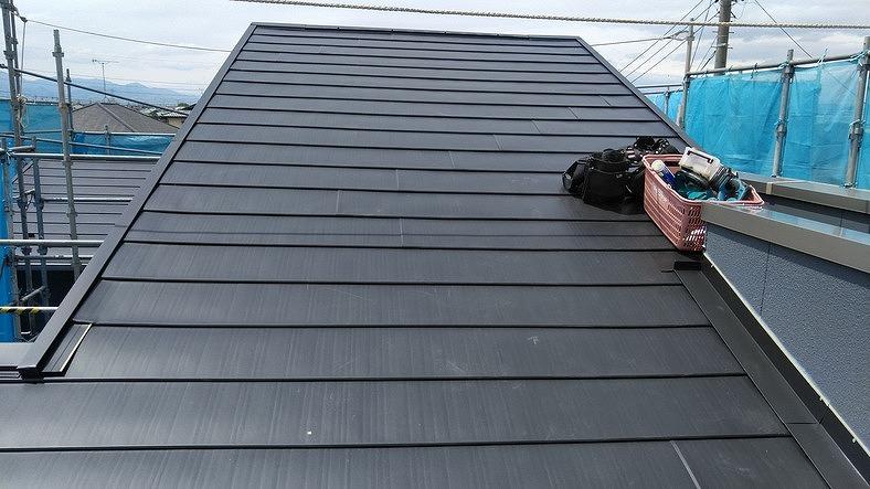 カバー工法の屋根
