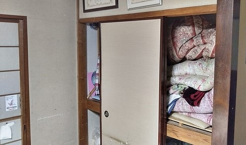 和室の押し入れの引き戸