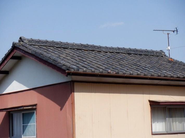 築50年の瓦屋根