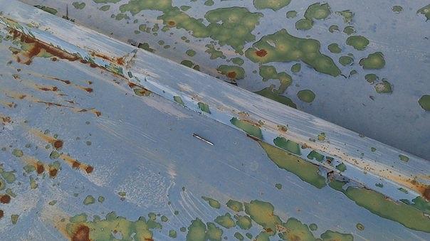 高崎市で塗装が取れてサビができているトタン屋根を調査しました
