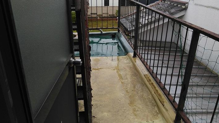 シート防水部分張替
