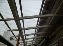 テラス屋根交換工事後
