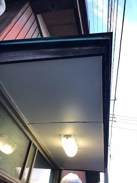 玄関照明点灯