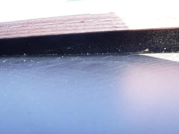 貫板の下の防水テープ