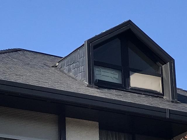 スレートの瓦の屋根